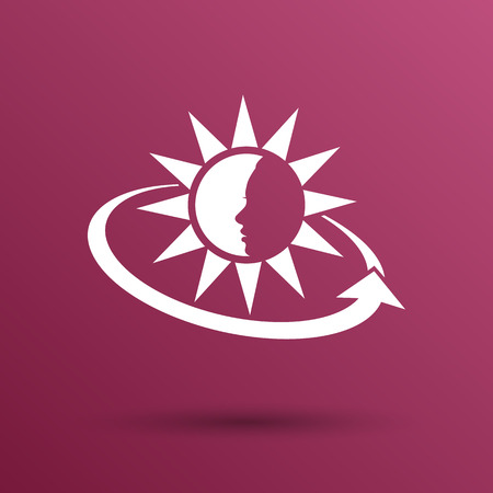 sun tan: Sun Cream Containers. Vector illustration. icon sun tan Vectores
