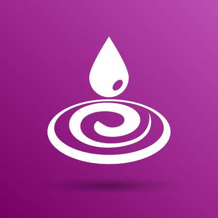 rain drop: water drop rain vector droplet icon fluid clean design.