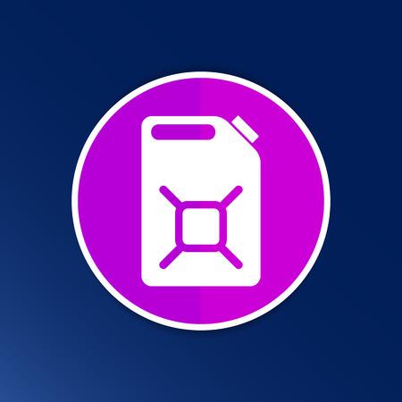 Engine Oil Icon Vector Button Logo Symbol Concept Royalty Free