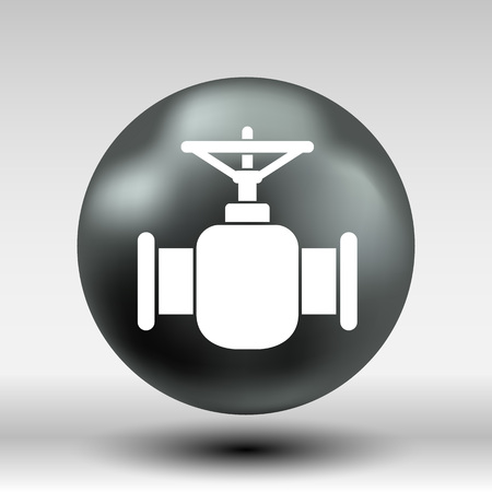 Pipeline Icon Vector Button Logo Symbol Concept Royalty Free