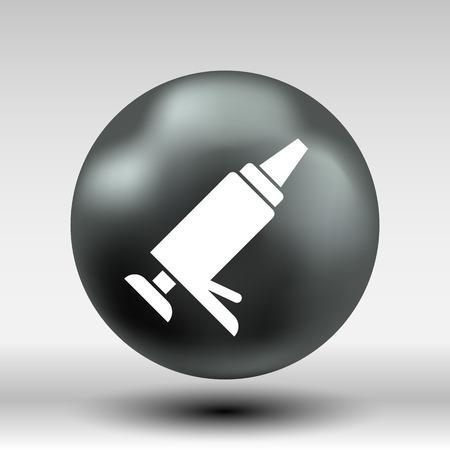 filler: Sealer  icon vector button logo symbol concept.