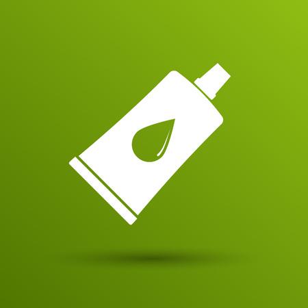 art icons: glue icon vector button  symbol concept.