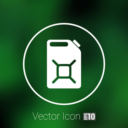 Engine Oil Icon Vector Button Symbol Concept Royalty Free Cliparts