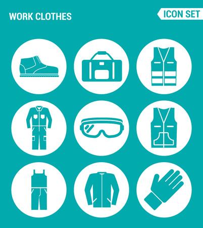 leather skirt: Vector set web icons. Elegant women clothing ring, skirt, bag, dress, glasses, umbrella, hat, shoes. Design of signs, symbols on a turquoise background