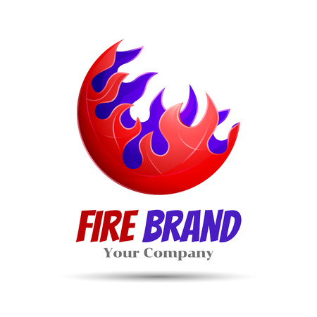 fireball: Fireball template concept illustration