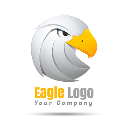 prophetic: King Eagle Volume Colorful 3d Vector Design Corporate identity