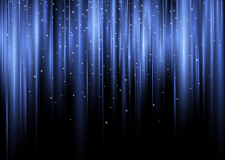 Polar Glow Flare Vector Abstract Background