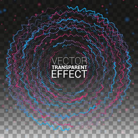 Design Elements Isolated on Transparent Background Vector Illustration Sound Wave. Music. Equalizer. Vectores