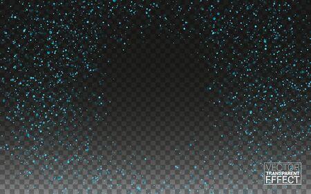 Blue glitter spray texture
