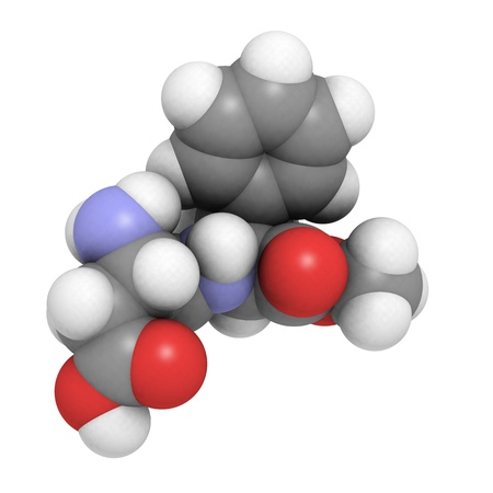 A molecule of aspartame, a popular sweetener Stock Photo - 12988542