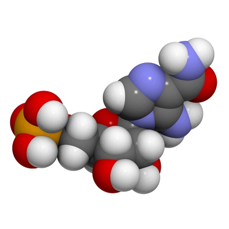 kinase: Chemical structure of a molecule of AICAR (Acadesine, AICA ribonucleotide, ZMP), a performance enhancing drug used in sports doping.
