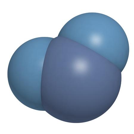 molecula de agua: Estructura qu�mica de una mol�cula de agua