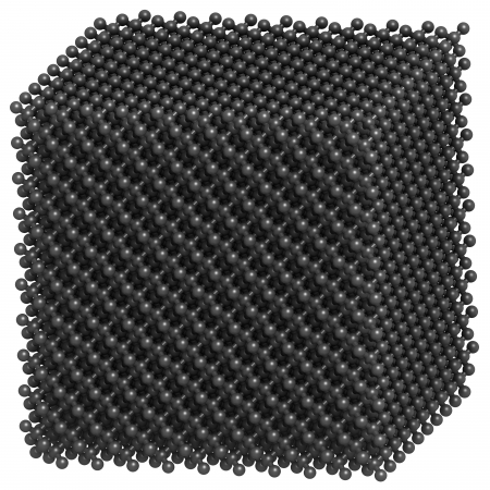 allotrope: Diamond crystal structure.