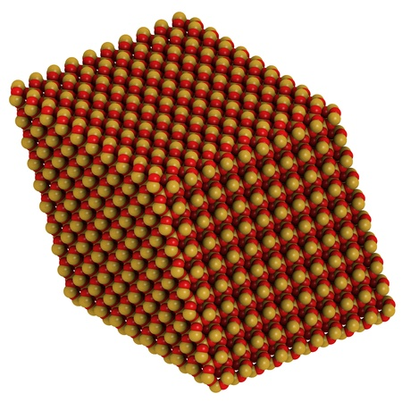 trigonal: Quartz (a-quartz, SiO2) crystal structure