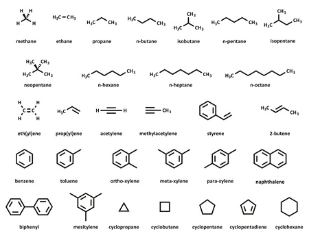 Amino acids 2d chemical structures of the 20 common amino acids hydrocarbon molecules set methane ethane propane n butane thecheapjerseys Gallery