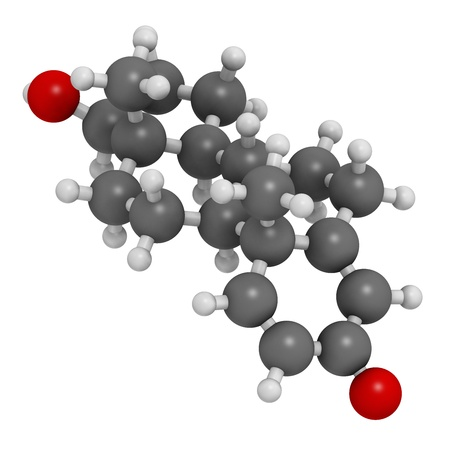 enhancing: Boldenone anabolic steroid, chemical structure. Used in veterinary medicine and as a performance enhancing drug in sports. Atoms are represented as spheres with conventional color coding: hydrogen (white), carbon (grey), oxygen (red).