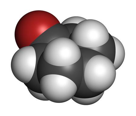 precursor: Cyclohexanone organic solvent molecule. Precursor of nylon Atoms are represented as spheres with conventional color coding: hydrogen (white), carbon (grey), oxygen (red).