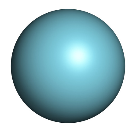 simulate: Argon (Ar) atom. Occurs as unreactive noble gas. Used as doping agent to simulate hypoxic conditions.