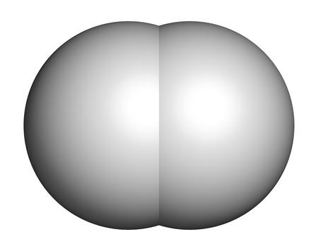 tritium: Hydrogen gas (H2) molecule.