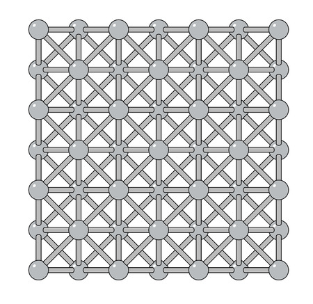 antimicrobial: Silver metal, crystal structure. Precious metal, used in electronics, medicine, jewelry, etc.