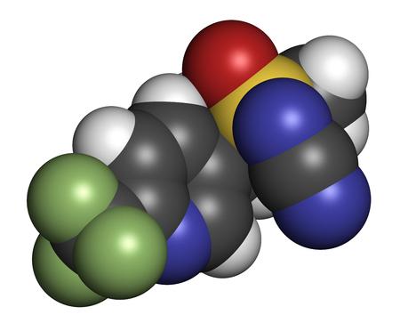 sistema nervioso central: sulfoxaflor, insecticida, neurotoxina, sulfoximina, central, nervioso, sistema, pesticidas, hidrógeno, nitrógeno, carbono, oxígeno, azufre, flúor, molécula, átomos, atómico, modelo, molecular, compuesto, composición, química, química, 3D, la ciencia , ciencia