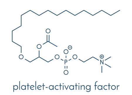 Platelet Activating Factor signaling molecule.