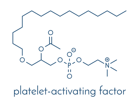 Platelet Activating Factor signaling molecule.