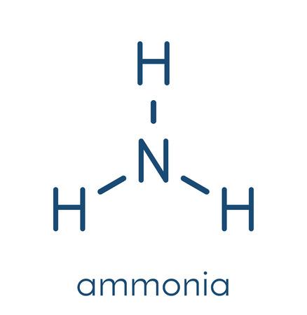 Ammonia molecule.
