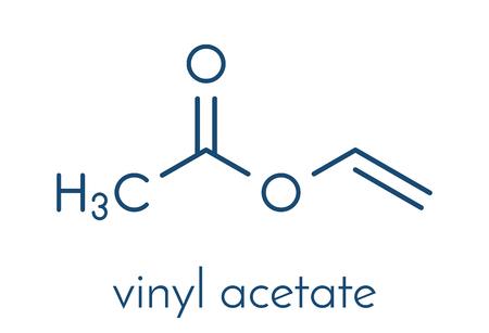 acetato polivinilo estructura quimica
