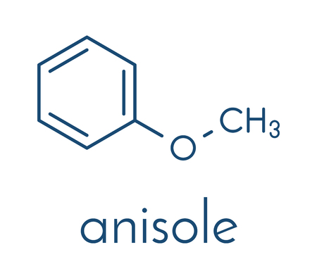 Anisole chemical molecule.