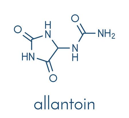 알란토인 분자.