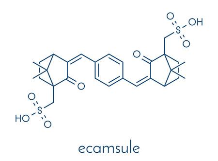 다른 원소의 분자 구조.