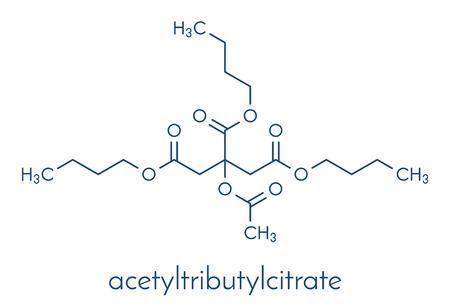 さまざまな要素の分子構造。