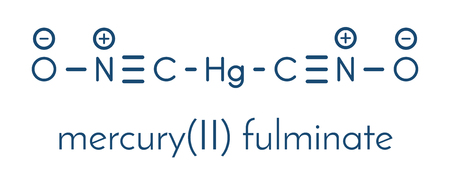 Mercury fulminate primary molecule.