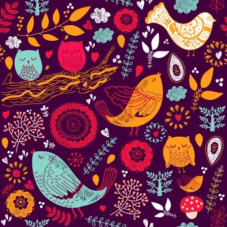 aves: Padr Ilustra��o