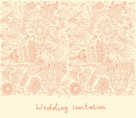 floral background Stock Vector - 15384426