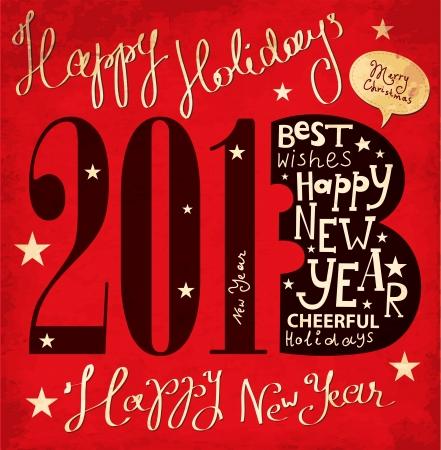 Tarjeta de Navidad Foto de archivo - 16439878