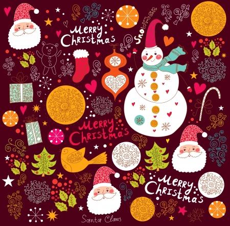 Fond de Noël Banque d'images - 16929854
