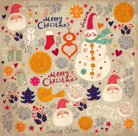 Karácsonyi háttér Illusztráció