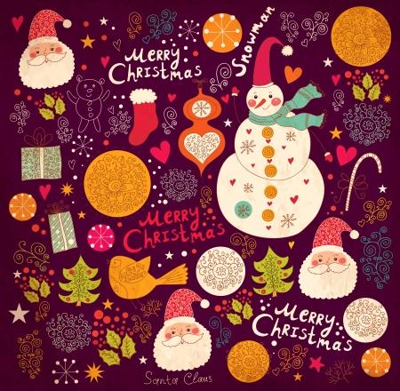 Sfondo Natale Vettoriali
