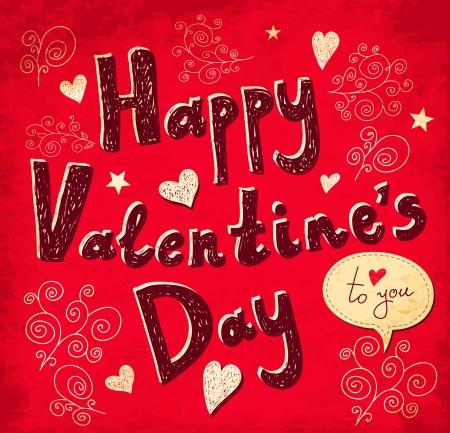 Valentine Greeting card Stock Vector - 17692402