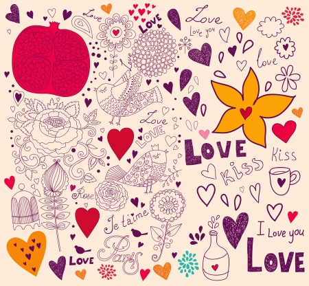 Vector art Valentine Greeting card Vector