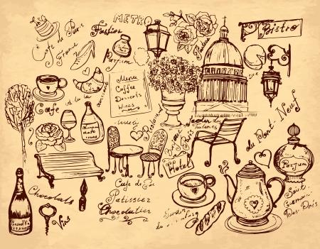 ilustración dibujados a mano