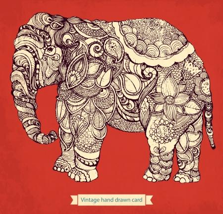 elefant: Dekorative Elefanten