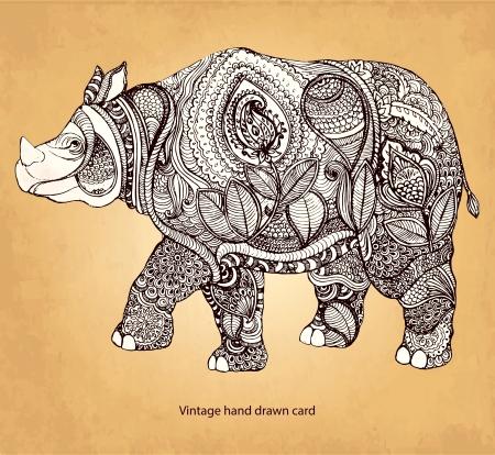 nashorn: Rhinoceros