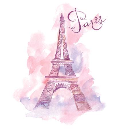 París. Ilustración vectorial Foto de archivo - 37328436