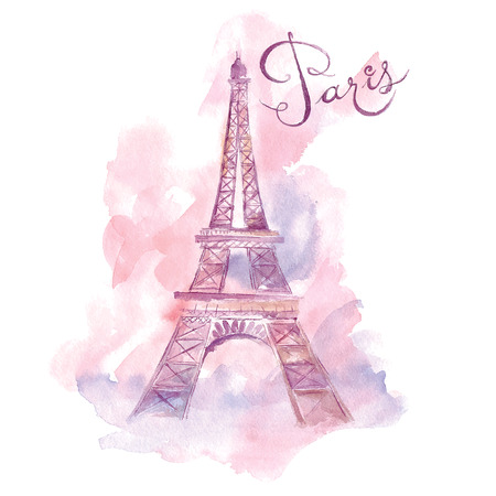 Paris. Vector illustration Stock Illustratie