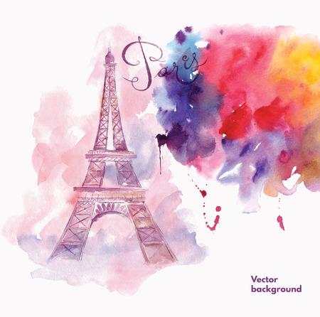 Paris. Vector illustration Illustration