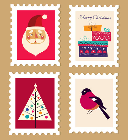 133,583 Christmas Label Stock Vector Illustration And Royalty Free ...