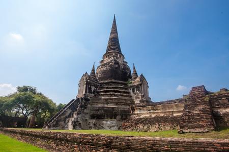 Wat Phra Si Sanphet in Ayutthaya historical park at Ayutthaya,Thailand